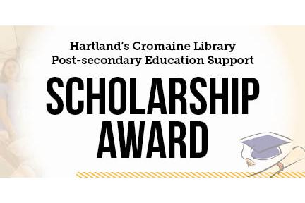 Cromaine Library 2019 Scholarship Award