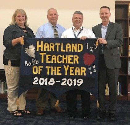 Paul Scheidler Named HCS Teacher of the Year