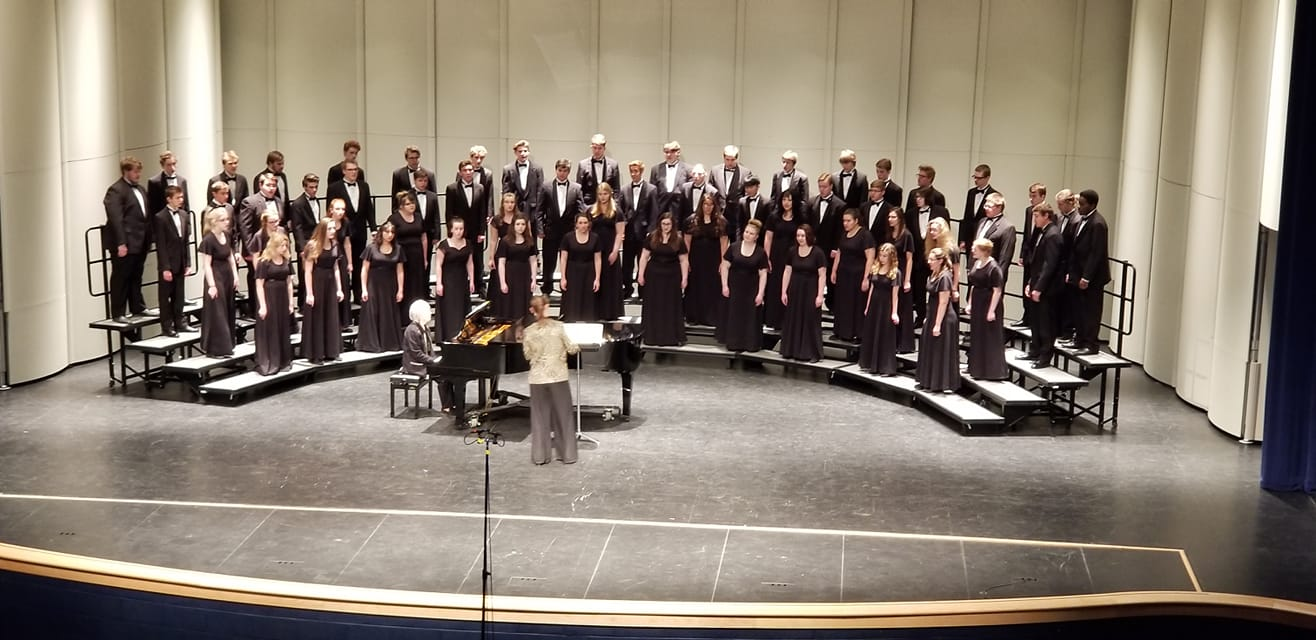 Hartland High School Choirs Earn Highest Award at State Choir Festival