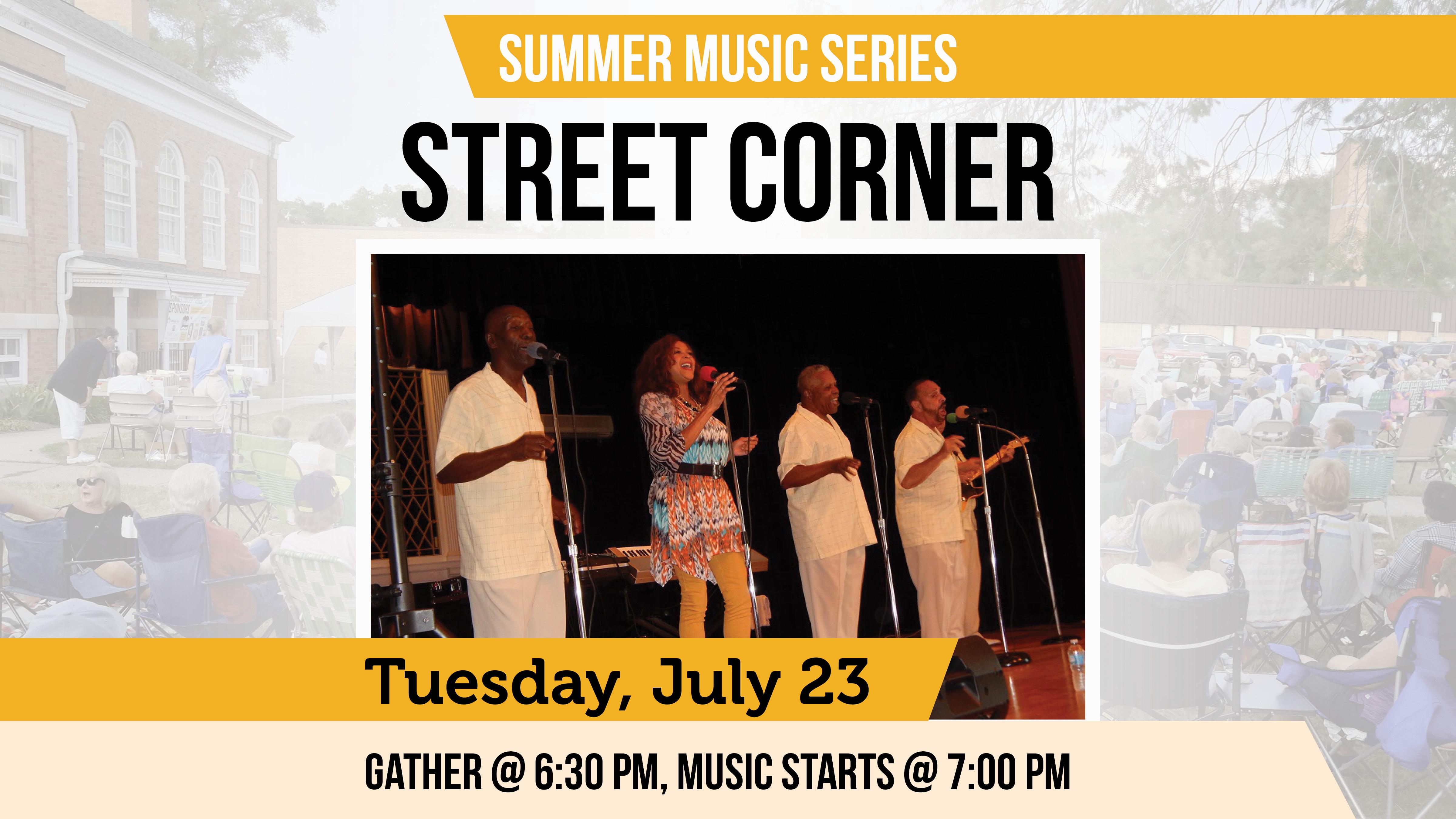 Cromaine Summer Music Series on Tuesday Nights