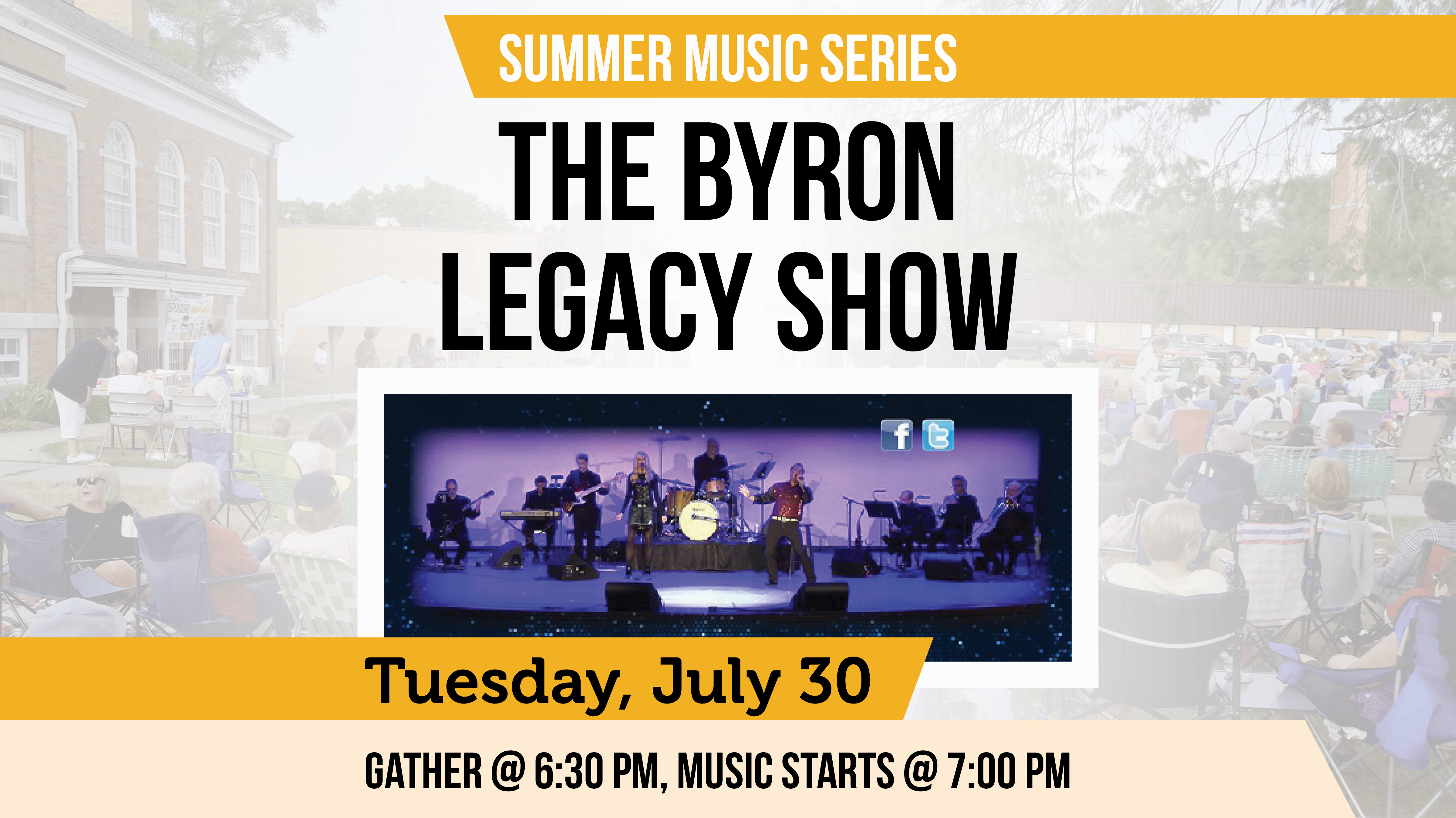 Cromaine Summer Music Series on Tuesday Nights