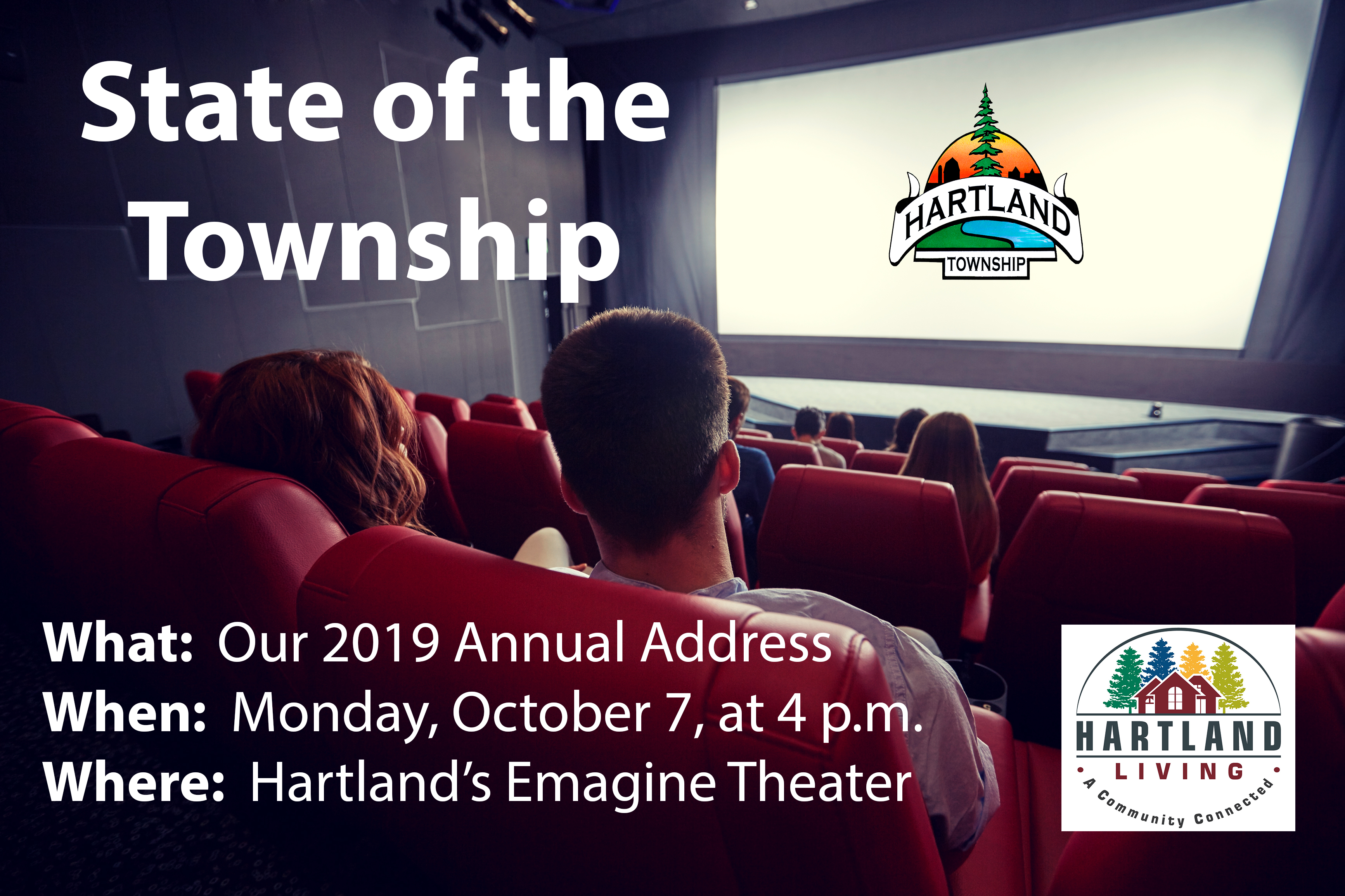 State of the Township Address to be Held at Emagine Theater