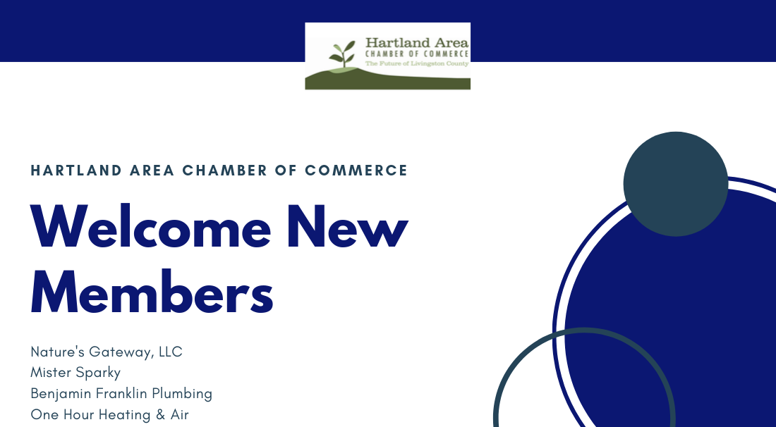 Hartland Area Chamber of Commerce Welcomes New Members