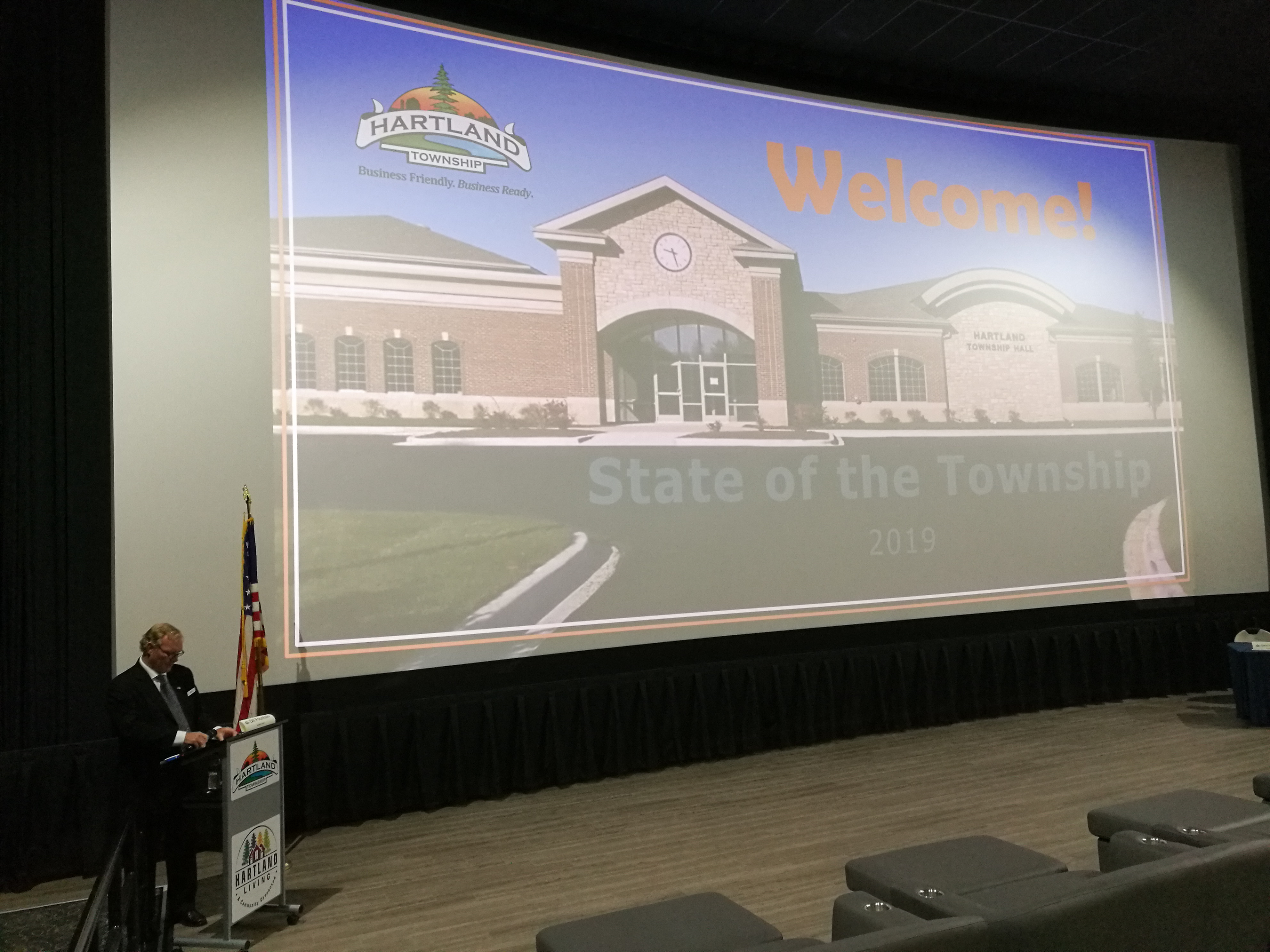 "State of the Township Address ""Future is Bright"""