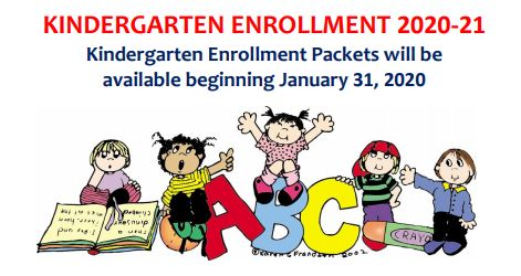 Hartland Kindergarten Orientation Announced