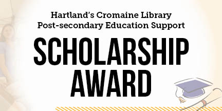 Cromaine Library Offers Two Scholarships to Graduating Seniors
