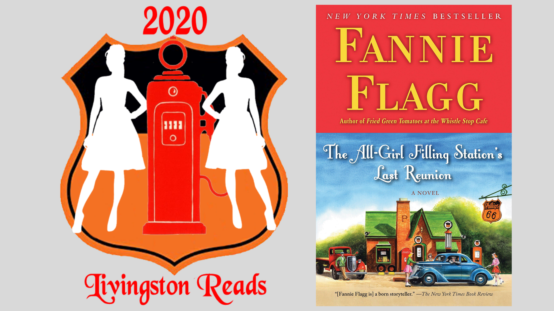 Cromaine Library Participating in Livingston Reads 2020