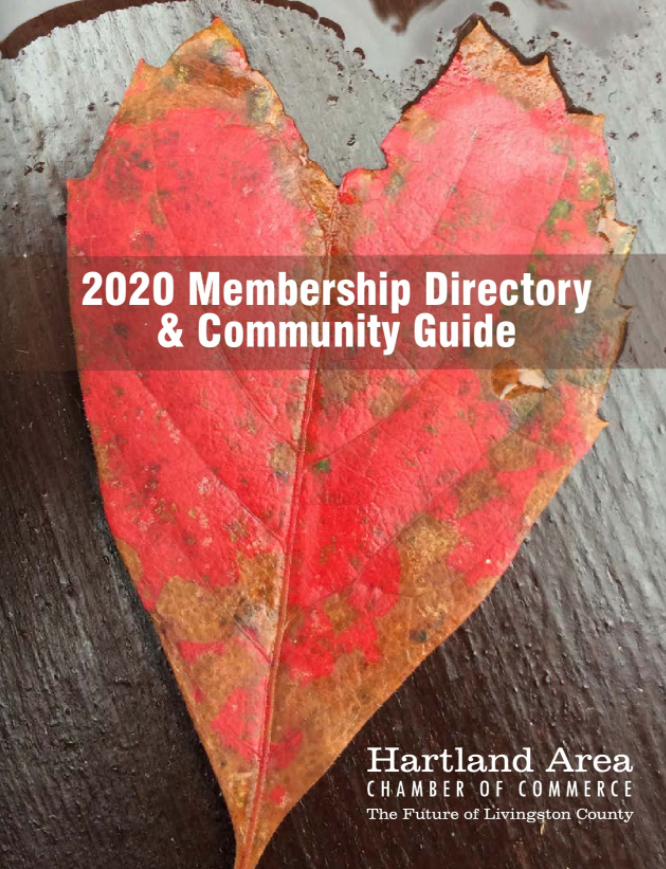 The 2020 Hartland Area Chamber of Commerce Directory & Community Guide is Here