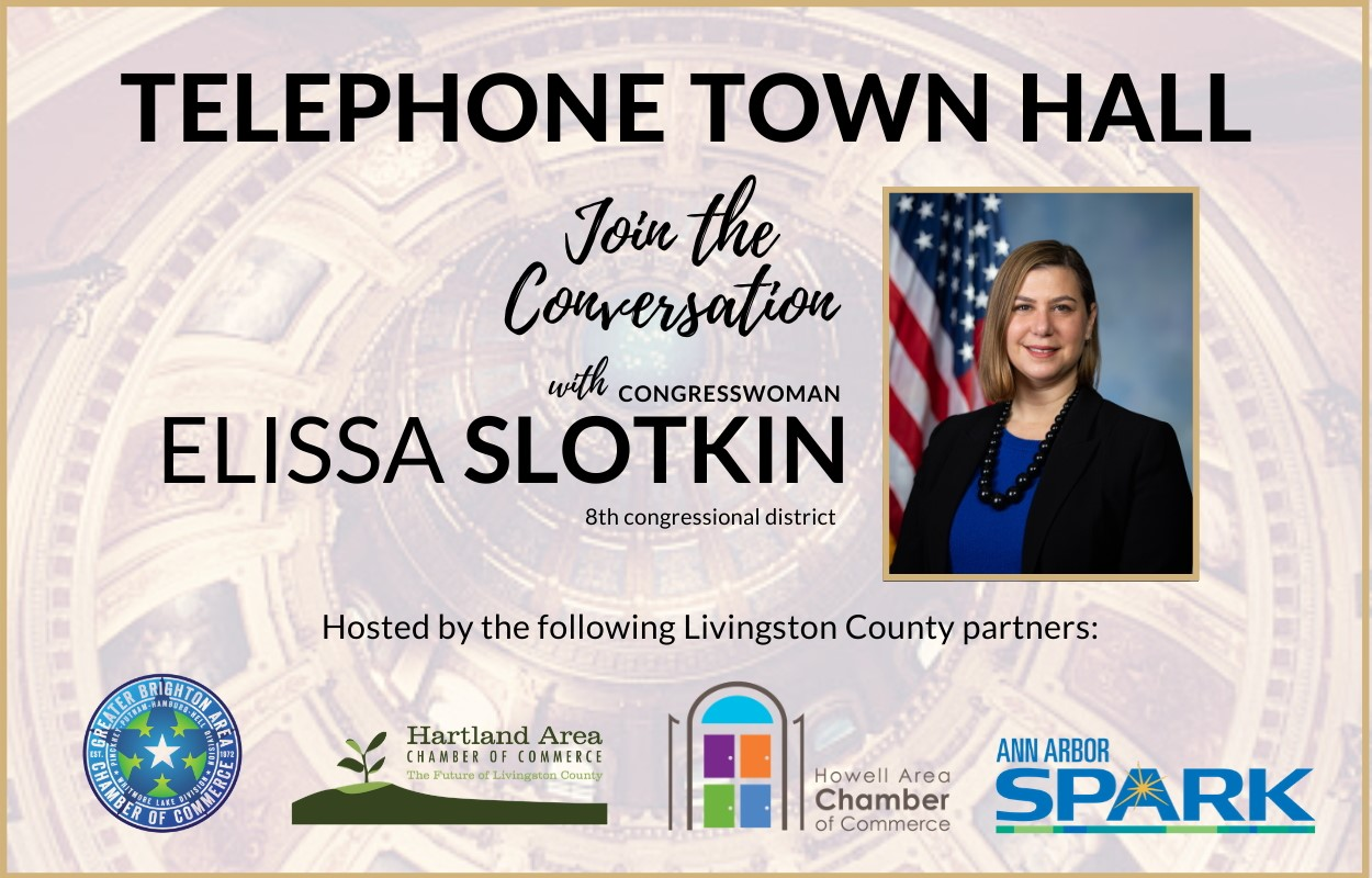 HACC Participates in Virtual Town Hall with Congresswoman Elissa Slotkin