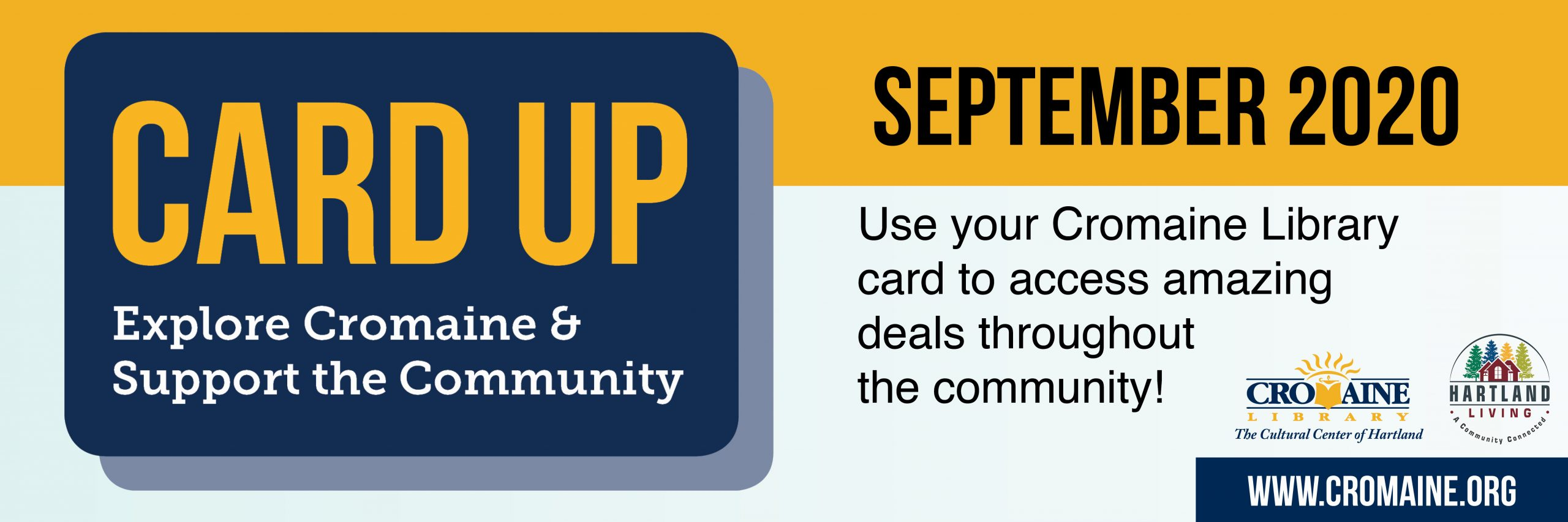 Card Up to Explore Cromaine and Support the Community