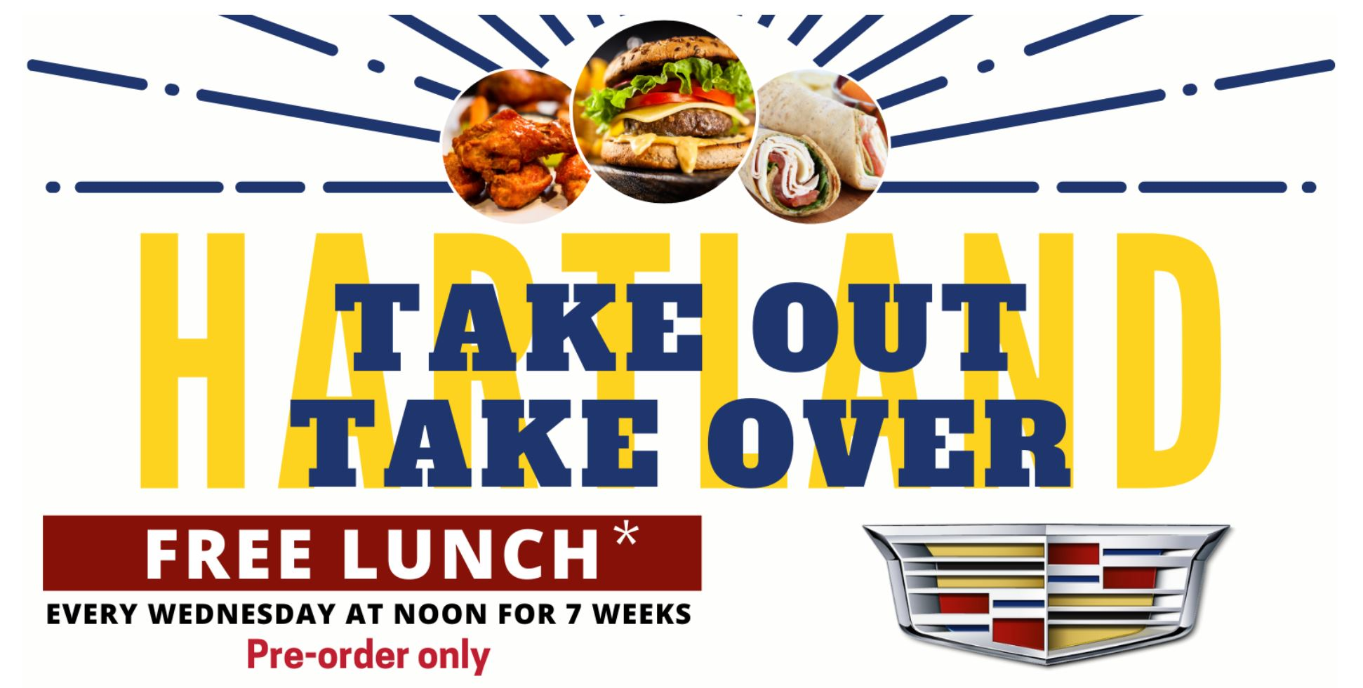 HACC and LaFontaine Cadillac Partner to Host Take Out Take Over
