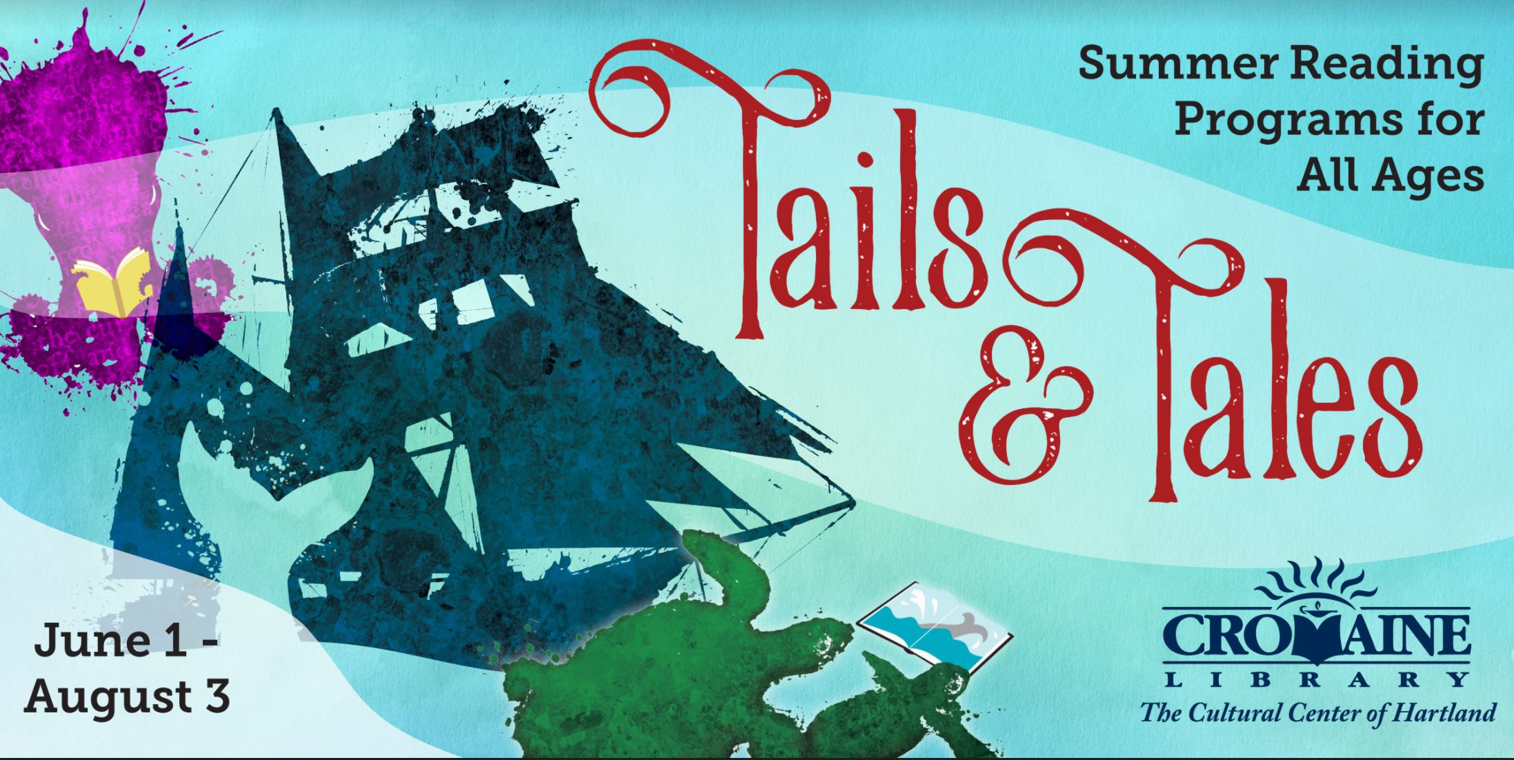 Cromaine Invites the Community to Participate in the Tails & Tales Summer Reading Challenge