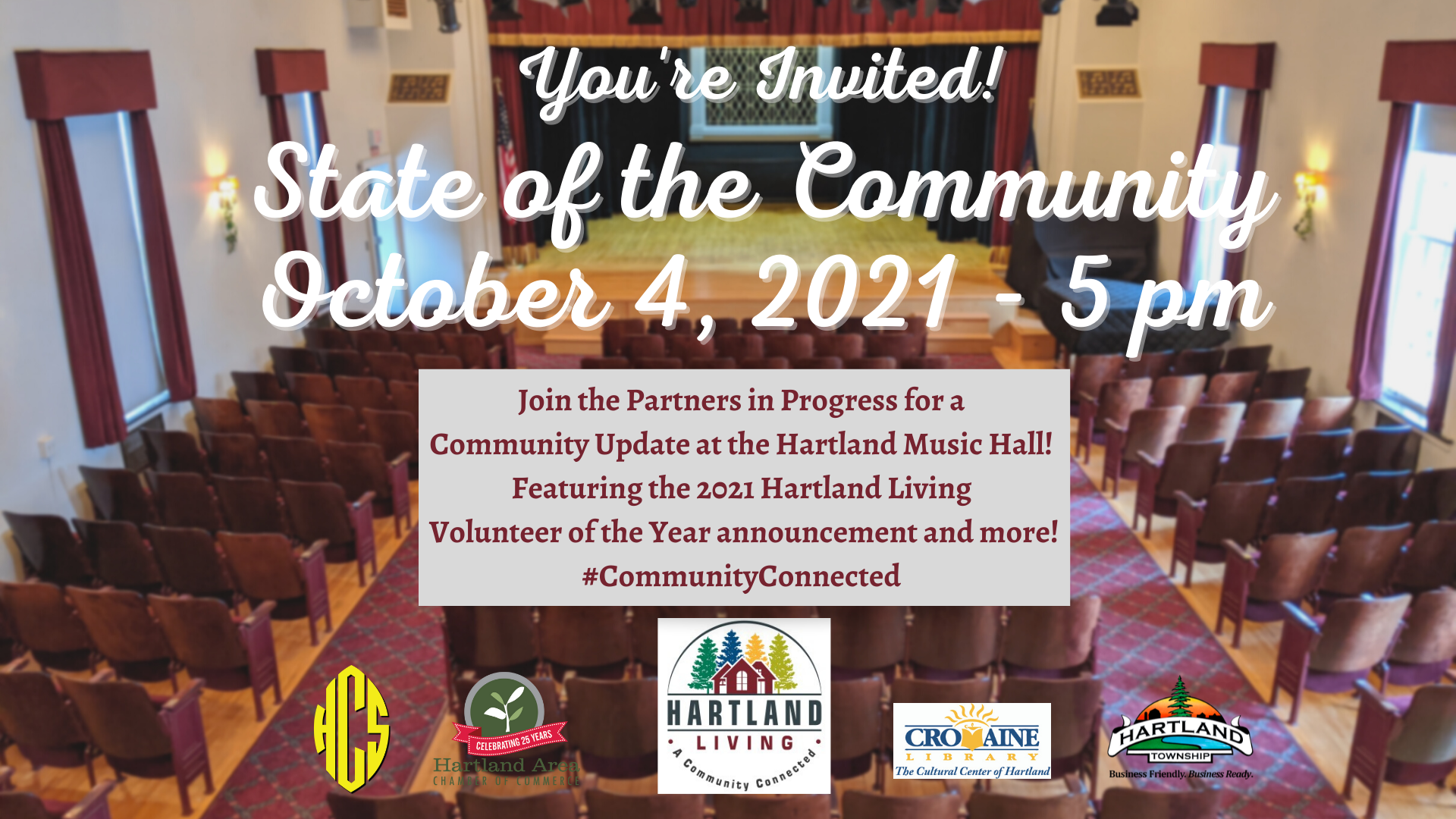 Public Invited to the State of the Community Address